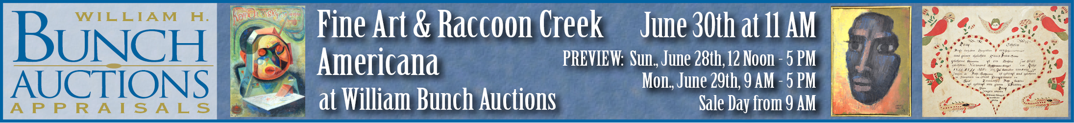 William H. Bunch - Auctions & Appraisals